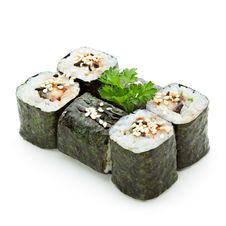 Free Eel Roll Royalty Free Stock Photo - 14523715