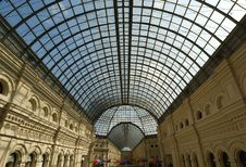 Free Interior Store GUM, Red Square, Moscow Stock Photo - 14524280