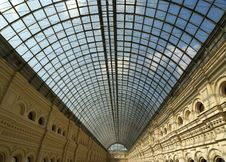 Free Interior Store GUM, Red Square, Moscow Stock Photo - 14524350