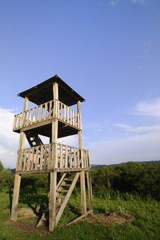 Wooden Watchtower Stock Photos