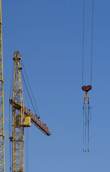 Free Elevating Construction Crane Stock Photos - 14525013