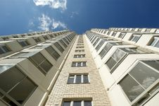 Moscow, Russia, New Multi-storey Residential B Stock Photo