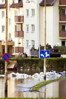 Free Flood In The City Royalty Free Stock Photos - 14526108