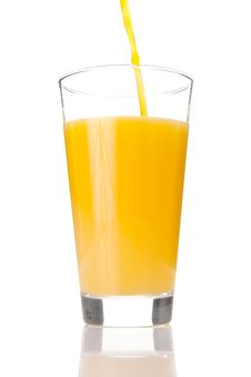 Free Fresh Orange Juice In A Glass Stock Images - 14526464