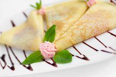 Free Pancakes Royalty Free Stock Image - 14527056