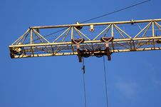 Free Elevating Construction Crane Royalty Free Stock Photography - 14527067