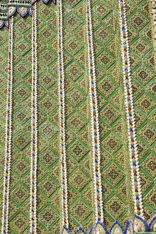 Free Pattern Mosaic Tile Asia Style Royalty Free Stock Photo - 14527145