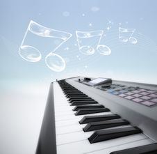Free Layout For Musical Event Stock Image - 14527251
