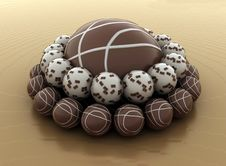 Free Chocolate Cakerry Royalty Free Stock Image - 14527356