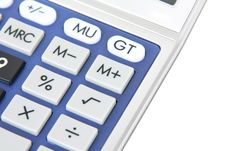 Free Calculator Royalty Free Stock Photography - 14528207