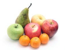 Free Group Of Fruits Royalty Free Stock Photography - 14529127