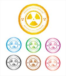 Free The Press A Sign On Radioactive Danger Stock Image - 14529141