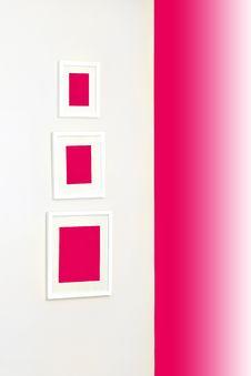 Free Pink Frames Royalty Free Stock Image - 14529406