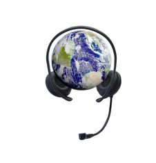 Free Headphones On Earth Royalty Free Stock Photo - 14529575