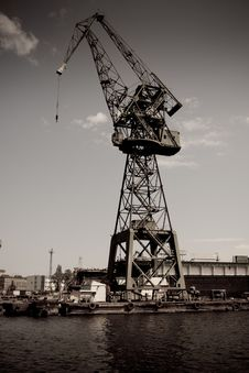 Free Crane Stock Photography - 14529622