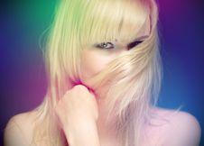 Free Blond In Studio Stock Photo - 14529920