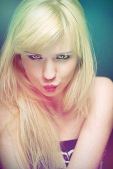 Free Blond In Studio Stock Photos - 14529993