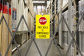 Free Aisle Is Closed Stock Photography - 14530962