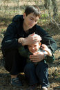 Free The Father And The Son Have Fun Stock Photos - 14531053