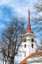 Free Church Tower In Kuressaare Royalty Free Stock Photography - 14531797
