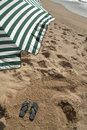 Free Sandals At The Beach Royalty Free Stock Photography - 14532437