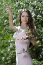 Free Beautiful Young Teenage Girl In Garden Royalty Free Stock Image - 14533616