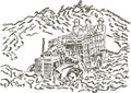 Free Harvesting - Hand Drawing Royalty Free Stock Photography - 14535407