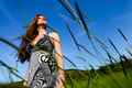 Free Woman And Green Grass Stock Photo - 14536660