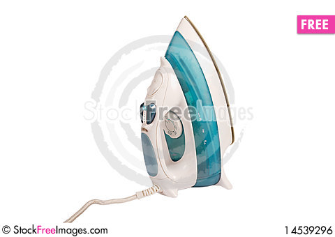 Free Modern Electric Iron Royalty Free Stock Image - 14539296