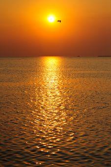 Free Magic Sunset Stock Photo - 14530110