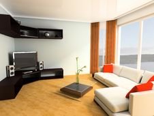 Free Apartment Studio Royalty Free Stock Images - 14530339