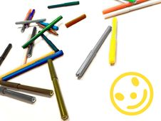 Free Markers Stock Photo - 14530610