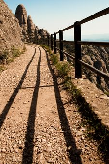 Free Path In The Mountains Stock Image - 14532241