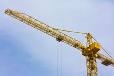 Free Crane Over Blue Sky Stock Photography - 14532602