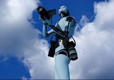 Free The Robot Stock Photography - 14532642