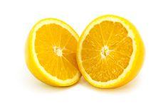 Free Orange Halves Stock Photography - 14533012