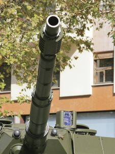 Military Cannon Royalty Free Stock Photo