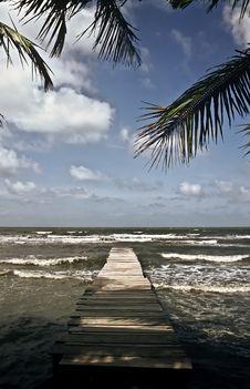 Free Boardwalk, Guatemala Stock Photography - 14533502