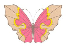 Free Abstract Butterfly Royalty Free Stock Photo - 14533695