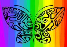 Free Abstract Butterfly Stock Photo - 14534280