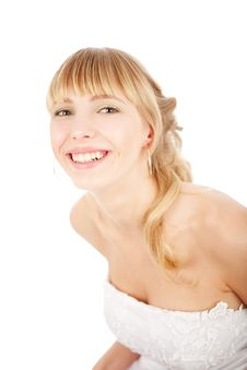 Free Laughing Bride Royalty Free Stock Photography - 14534357