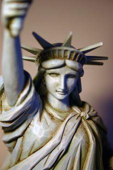 Statue Of Liberty Figure Stock Photography