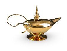Free Alladin Lamp Royalty Free Stock Image - 14534996