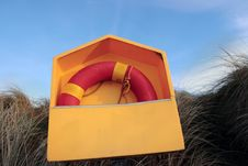 Free Lifebuoy Box On Kerry Coast Royalty Free Stock Images - 14535139
