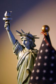 Statue Of Liberty Figure Stock Photos