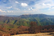 Free Spring View From Mountains Royalty Free Stock Photos - 14535488