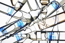 Free Ampoules On A White Background Stock Photos - 14535783