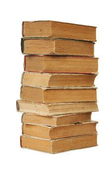 Free Pile Of Old Books Royalty Free Stock Image - 14536126