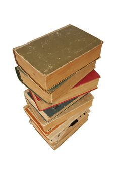 Free Pile Of Old Books Stock Photo - 14536130