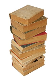 Free Pile Of Old Books Royalty Free Stock Photo - 14536135